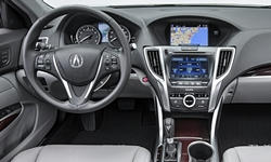 Acura Models at TrueDelta: 2017 Acura TLX interior