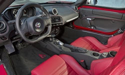 Coupe Models at TrueDelta: 2018 Alfa Romeo 4C interior