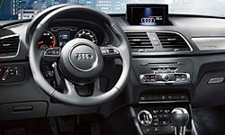 SUV Models at TrueDelta: 2015 Audi Q3 interior