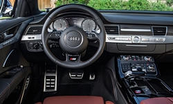 Audi Models at TrueDelta: 2017 Audi A8 / S8 interior