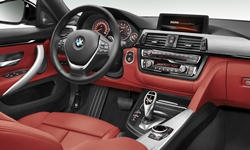 Hatch Models at TrueDelta: 2018 BMW 4-Series Gran Coupe interior