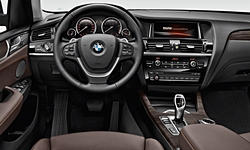 BMW Models at TrueDelta: 2018 BMW X3 interior
