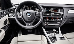 BMW Models at TrueDelta: 2018 BMW X4 interior