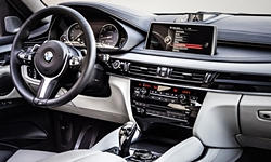BMW Models at TrueDelta: 2018 BMW X6 interior