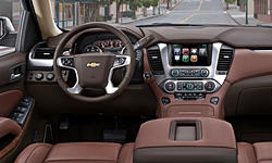 SUV Models at TrueDelta: 2020 Chevrolet Tahoe / Suburban interior