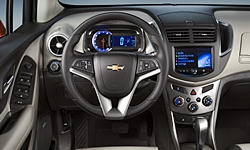 SUV Models at TrueDelta: 2016 Chevrolet Trax interior