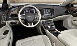 Chrysler Models at TrueDelta: 2017 Chrysler 200 interior