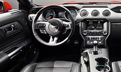 Coupe Models at TrueDelta: 2017 Ford Mustang interior