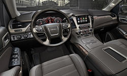 GMC Models at TrueDelta: 2017 GMC Yukon interior