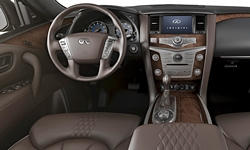 SUV Models at TrueDelta: 2017 Infiniti QX80 interior