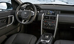 SUV Models at TrueDelta: 2017 Land-Rover Discovery Sport interior