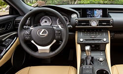 Coupe Models at TrueDelta: 2019 Lexus RC interior