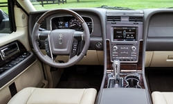 SUV Models at TrueDelta: 2017 Lincoln Navigator interior