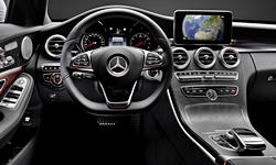 Convertible Models at TrueDelta: 2017 Mercedes-Benz C-Class interior