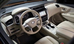 SUV Models at TrueDelta: 2018 Nissan Murano interior