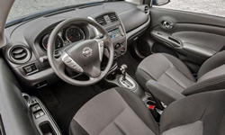 Nissan Models at TrueDelta: 2017 Nissan Versa interior