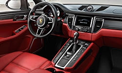 SUV Models at TrueDelta: 2018 Porsche Macan interior