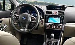 Hatch Models at TrueDelta: 2016 Subaru Impreza interior