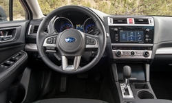 Wagon Models at TrueDelta: 2018 Subaru Outback interior