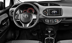 Toyota Models at TrueDelta: 2017 Toyota Yaris interior
