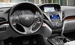 Acura Models at TrueDelta: 2019 Acura MDX interior