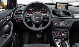 SUV Models at TrueDelta: 2018 Audi Q3 interior