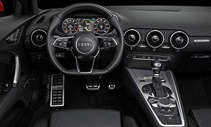 Convertible Models at TrueDelta: 2017 Audi TT interior