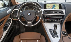 Coupe Models at TrueDelta: 2017 BMW 6-Series interior