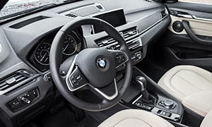 BMW Models at TrueDelta: 2018 BMW X1 interior