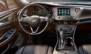 SUV Models at TrueDelta: 2020 Buick Envision interior