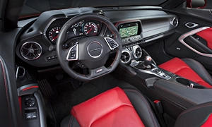 Coupe Models at TrueDelta: 2020 Chevrolet Camaro interior