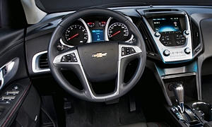 SUV Models at TrueDelta: 2017 Chevrolet Equinox interior