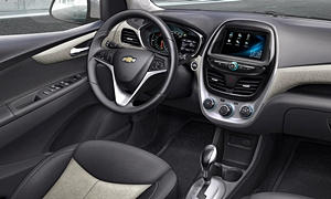 Hatch Models at TrueDelta: 2018 Chevrolet Spark interior