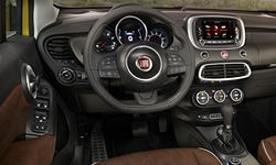 Fiat Models at TrueDelta: 2018 Fiat 500X interior