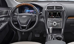 SUV Models at TrueDelta: 2019 Ford Explorer interior