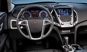 GMC Models at TrueDelta: 2017 GMC Terrain interior