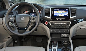 Honda Models at TrueDelta: 2018 Honda Pilot interior
