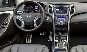 Hatch Models at TrueDelta: 2017 Hyundai Elantra GT interior