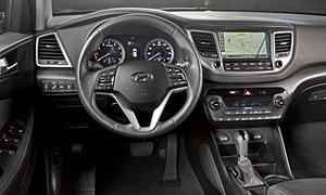 SUV Models at TrueDelta: 2018 Hyundai Tucson interior