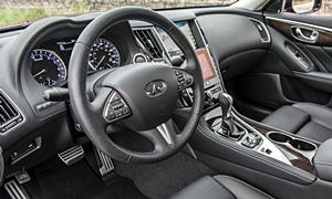 Infiniti Models at TrueDelta: 2017 Infiniti Q50 interior
