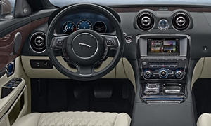 Jaguar Models at TrueDelta: 2017 Jaguar XJ interior