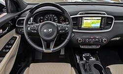 SUV Models at TrueDelta: 2018 Kia Sorento interior