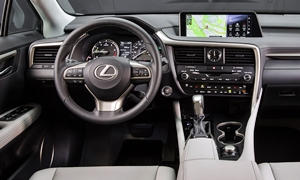 SUV Models at TrueDelta: 2019 Lexus RX interior