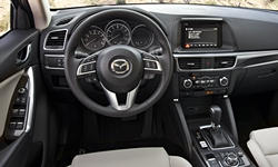 Mazda Models at TrueDelta: 2016 Mazda CX-5 interior