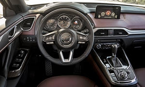 Mazda Models at TrueDelta: 2018 Mazda CX-9 interior