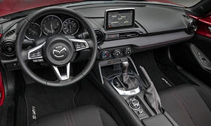 Mazda Models at TrueDelta: 2018 Mazda MX-5 Miata interior