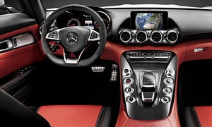 Convertible Models at TrueDelta: 2020 Mercedes-Benz AMG GT interior