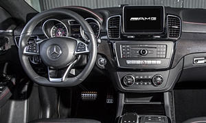 SUV Models at TrueDelta: 2017 Mercedes-Benz GLE Coupe interior