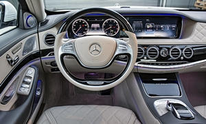 Mercedes-Benz Models at TrueDelta: 2018 Mercedes-Benz Maybach S-Class interior