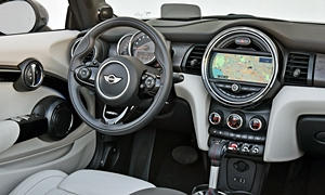 Convertible Models at TrueDelta: 2017 Mini Convertible interior